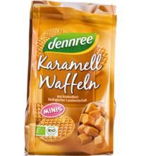 dennree Mini - Karamellwaffeln, 150 gr Packung