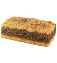 Rosengarten Mohn-Kuchenschnitte, 95 gr Stück