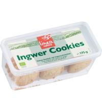 linea natura Ingwer Cookies, 175 gr Packung