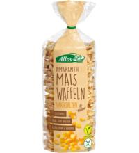 Allos Amaranth-Mais-Waffeln, 100 gr Packung -glutenfrei-