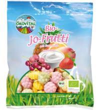 Ökovital Jo Frutti mit bio Gelatine, 80 gr Packung