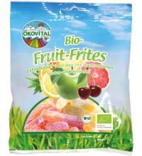 Ökovital Fruit Frites mit bio Gelatine, 100 gr Packung
