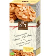 De Rit Erdnussplätzchen, 150 gr Packung