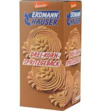 Erdmannh Drei-Korn-Spritzgebäck, 200 gr Packung