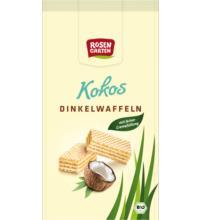 Rosengarten Kokos Dinkelwaffeln, 100 gr Packung