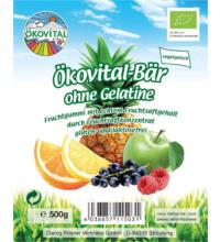 Ökovital Ökovital-Bär, 500 gr Packung -ohne Gelatine-