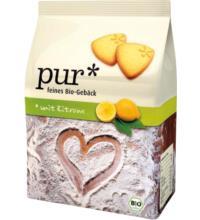 pur* Mürbegebäck mit Zitrone, 225 gr Packung