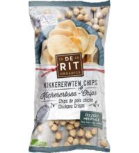 De Rit Kichererbsen Chips Meersalz, 75 gr Beutel