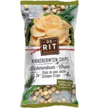De Rit Kichererbsen Chips Rosmarin, 75 gr Beutel