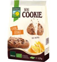 Bohlsener Mini Cookie Schoko Orange, 125 gr Packung
