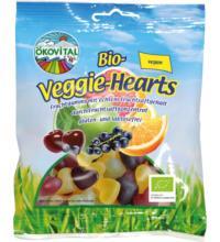 Ökovital Veggie-Hearts, 100 gr Packung -ohne Gelatine-