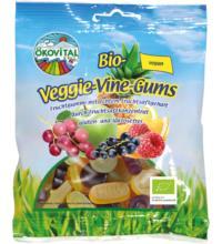 Ökovital Veggie-Vine-Gums ohne Gelatine, 100 gr Packung