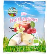 Ökovital Frutti-Mellows, 100 gr Packung -mit bio Gelatine-