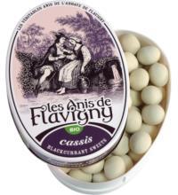 les Anis de Flavigny Schwarze Johannisbeer Bonbon, 50 gr Dose
