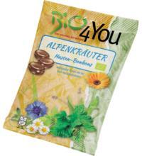 Bio4you Alpenkräuter Bonbons, 75 gr Packung