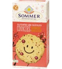 Sommer Cookies Cranberry Mandel, 125 gr Packung -glutenfrei-