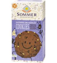 Sommer Cookies Schoko Cashew, 125 gr Packung -glutenfrei-