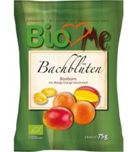 BIO loves Me Bachblüten Bonbons Mango-Orange, 75 gr Packung