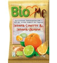 BIO loves Me Ingwer Limette & Ingwer Orange Bonbons, 75 gr Packung
