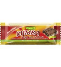 Rapunzel Rumba Puffreisriegel Zartbitter, 50 gr Stück