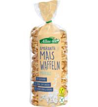 Allos Amaranth-Mais-Waffeln mit Meersalz, 100 gr Packung -glutenfrei-