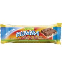 Rapunzel Rumba Puffreisriegel Vollmilch, 21 gr Stück