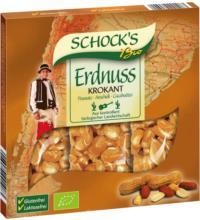 Schocks Erdnuss Krokant Riegel, 75 gr Packung