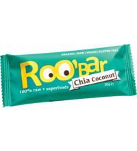 Roo`Bar Rohkostriegel Chia & Coconut, 30 gr Stück