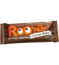 Roo`Bar Rohkostriegel Cacao Nibs & Almonds, 30 gr Stück