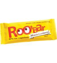 Roo`Bar Rohkostriegel Maca & Cranberries, 30 gr Stück