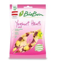 BioBon Yoghurt Hearts, 100 gr Packung -ohne Gelatine-