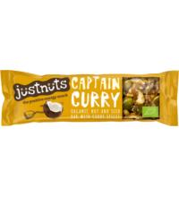 Justnuts Spicy Bar Captain Curry, 30 gr Stück