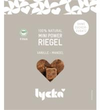 Lycka Mini Power-Riegel Vanille-Mandel, 80 gr Packung
