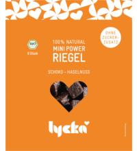 Lycka Mini Power-Riegel Schoko-Haselnuss, 80 gr Packung