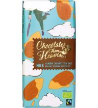 Klingele Milk Chocolate Mandel und Salz, 100 gr Packung