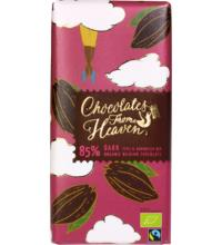 Klingele Dark Chocolate 85% Peru & D.R., 100 gr Packung