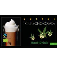 Zotter Hanf - Drink Trinkschokolade, 110 gr Packung