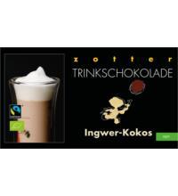 Zotter Ingwer-Kokos Trinkschokolade, 110 gr Packung