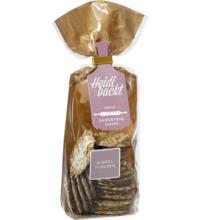 Heidi backt Sauerteig-Chips mit Dinkelflocken und VM-Schokolade, 100 gr Beutel