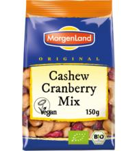 Morgenland Cashew-Cranberry Mix, 150 gr Packung