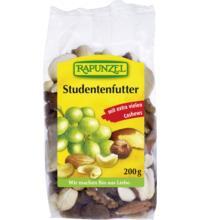 Rapunzel Studentenfutter mit Sultaninen, 200 gr Packung