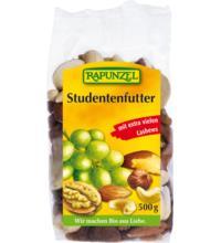 Rapunzel Studentenfutter mit Sultaninen, 500 gr Packung
