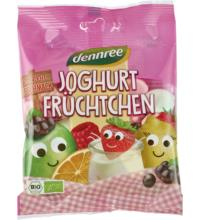 dennree Joghurtfrüchtchen, 90 gr Packung