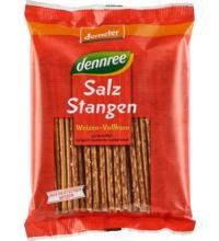 dennree Weizen-Vollkorn Salzstangen demeter, 125 gr Packung