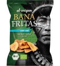 Elbdepot El Origen Banafritas, 80 gr Packunggesalzen