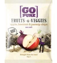 Go Pure Fruits & Veggies sea salt, 90 gr Packung