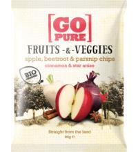 Go Pure Fruits & Veggies star anise & cinnamon, 90 gr Packung