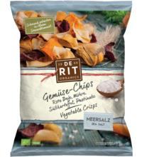 De Rit Gemüse-Chips Meersalz, 75 gr Packung