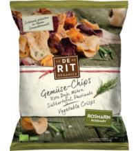 De Rit Gemüse-Chips Rosmarin, 75 gr Packung
