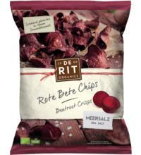 De Rit Rote Bete-Chips Meersalz, 75 gr Packung